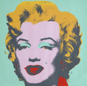 Title: Marilyn Monroe , Date: 1967 , Size: 36 x 36 in. , Medium: screenprint in five colors on Arches paper