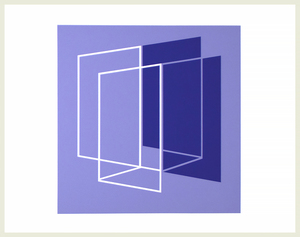 JOSEF ALBERS - Formulation: Articulation - screenprint - 12 1/4 x 12 1/4 in.