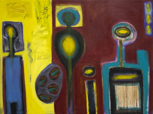 HERB ALPERT - All In The Family - acrylic on canvas - 36 x 48 in.