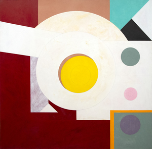 HASSEL SMITH - Untitled, 109-84 - acrylic on canvas - 67 5/8 x 68 in.