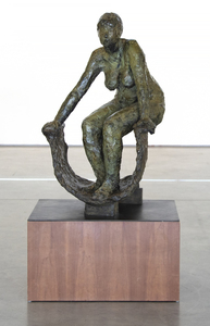 ANTHONY CARO - Figure in a Tub - bronze - 42 x 30 1/4 x 24 1/4 in.
