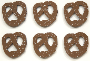 CLAES OLDENBURG - NYC Pretzel - acrylic on corrugated cardboard - 21 x 28 3/4 in.