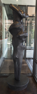 HERB ALPERT - Embrace - bronze with black patina - 83 x 27 x 27 in.