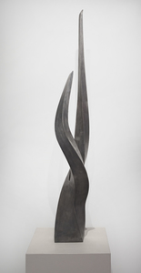 ARISTIDES DEMETRIOS - The Eternal Flame - steel - 47 3/4 x 6 x 7 in.
