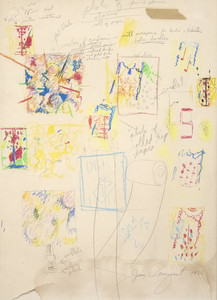 JAMES ROSENQUIST-Drawing Study