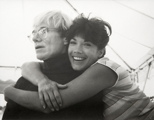 ANDY WARHOL-Andy and Barbi Benton