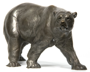 DAN OSTERMILLER - Ice Bear - bronze - 9 x 16 in.