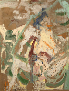 WILLEM DE KOONING-Woman in a Rowboat