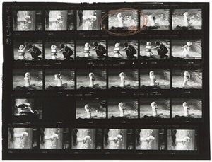 "LAWRENCE SCHILLER - Contact Sheet, Marilyn Monroe, ""Something's Got to Give"" - silver gelatin photograph - 20 x 24 in."