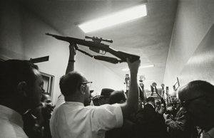 LAWRENCE SCHILLER-Oswald's Gun, Dallas Polic Station, Dallas Texas, November 23, 1963