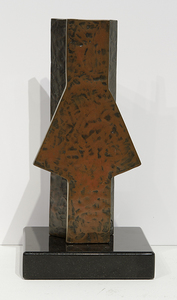 BETTY GOLD - Holistic #11 - Bronze - 10 x 5 x 3 in.